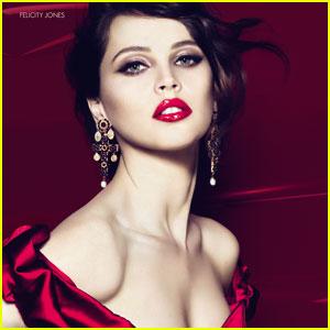 Felicity Jones: Dolce&Gabbana Makeup Ad!