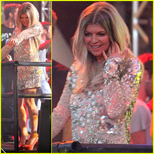 Fergie: Carnival in Brazil!
