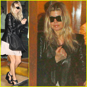 Fergie: Leather Lady in Rio