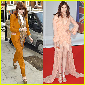 Florence Welch - Brit Awards 2012 Red Carpet