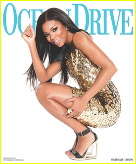 Gabrielle Union Covers 'Ocean Drive'
