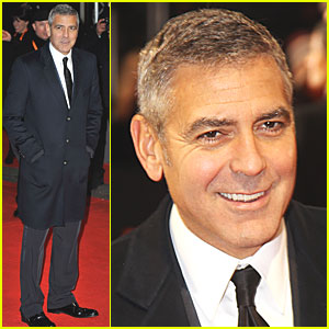 George Clooney - BAFTAs 2012 Red Carpet
