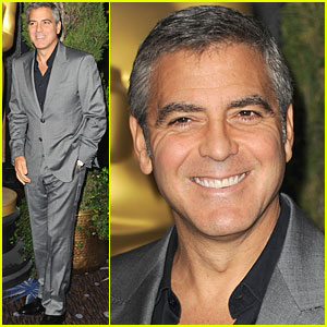 George Clooney: Academy Awards Nominations Luncheon