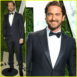 Gerard Butler - Vanity Fair Oscar Party