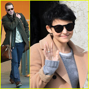 Ginnifer Goodwin and Josh Dallas: Travel Buddies!