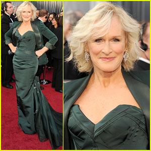 Glenn Close - Oscars 2012 Red Carpet