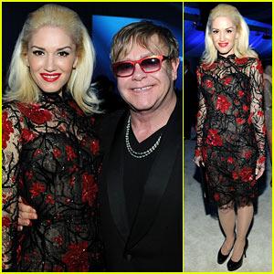 Gwen Stefani - Elton John Oscar Party