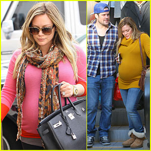 Hilary Duff & Mike Comrie: Mall Mates