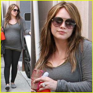 Hilary Duff: Pilates & Hospital Visit