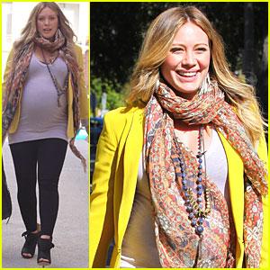 Hilary Duff: I Love My Yellow Blazer!