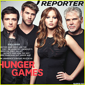 'Hunger Games' Cast Covers 'The Hollywood Reporter'