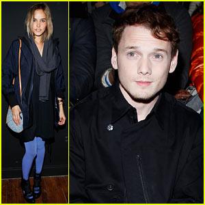 Isabel Lucas & Anton Yelchin: Y-3 Fashion Friends!