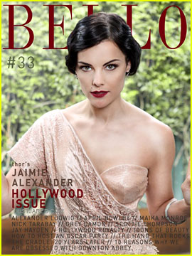 Jaimie Alexander Covers 'Bello' Magazine Issue #33