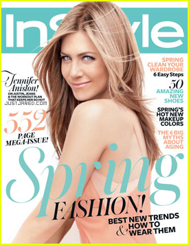 Jennifer Aniston Covers 'InStyle' March 2012