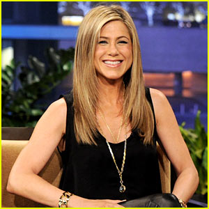 Jennifer Aniston: Leather Pants on 'Leno'!