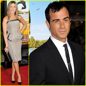 Jennifer Aniston & Justin Theroux: 'Wanderlust' Premiere Pair!