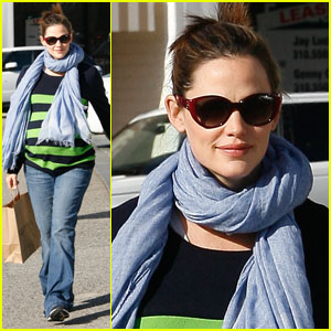 Jennifer Garner: Juice Run!