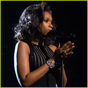 Jennifer Hudson's Whitney Houston Tribute at Grammys - Watch Now!
