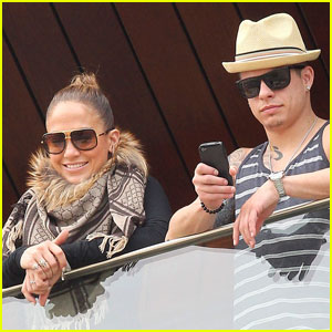 Jennifer Lopez & Casper Smart: Ready for Rio!