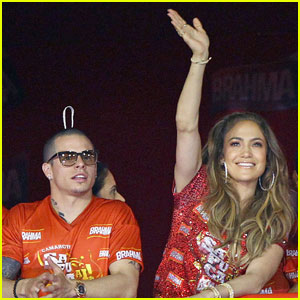 Jennifer Lopez & Casper Smart: Carnival Couple!