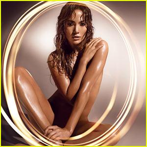 Jennifer Lopez: Naked for New Fragrance Ad!