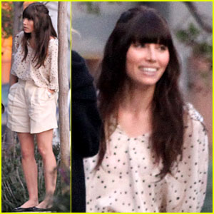 Jessica Biel: 'Emanuel & the Truth About Fishes' Set!