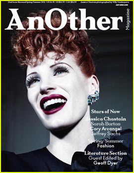 Jessica Chastain Covers 'AnOther Magazine' Spring/Summer 2012