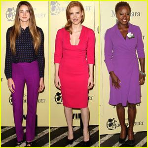 Jessica Chastain & Shailene Woodley: Women In Film Party!