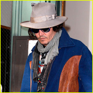 Johnny Depp: 'Rango' Wins an Oscar!
