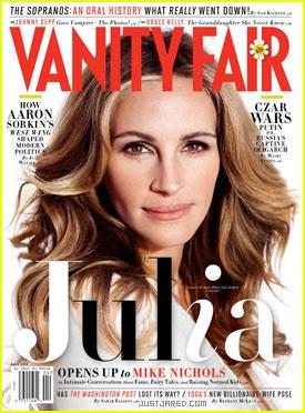 Julia Roberts Covers 'Vanity Fair' April 2012