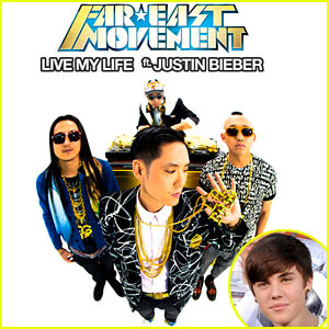 Justin Bieber & Far East Movement: 'Live My Life' - Listen Now!