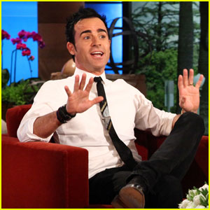 Justin Theroux Breakdances on 'Ellen'