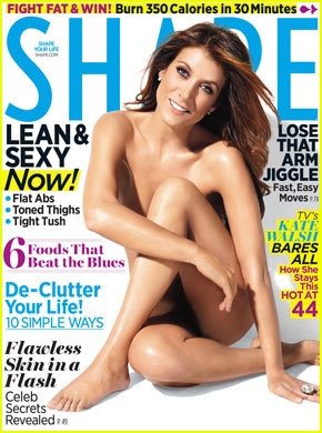 Kate Walsh: Nude 'Shape' March 2012 Cover!