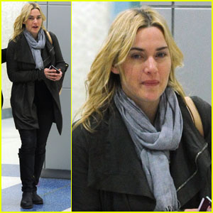 Kate Winslet: Airport Arrival