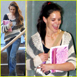 Katie Holmes: Dance Class in Hollywood!