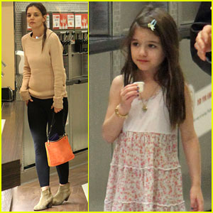 Katie Holmes: Froyo Fun with Suri!
