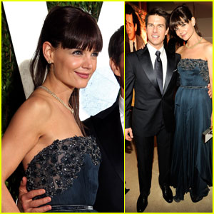 Tom Cruise & Katie Holmes - Vanity Fair Oscar Party