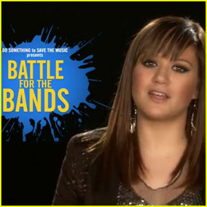 Kelly Clarkson: Battle for the Bands PSA!