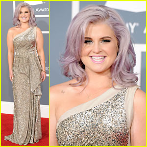 Kelly Osbourne - Grammys 2012 Red Carpet