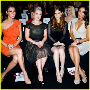 Kelly Osbourne & Kate Mara: Badgley Mischka Fashion Show!