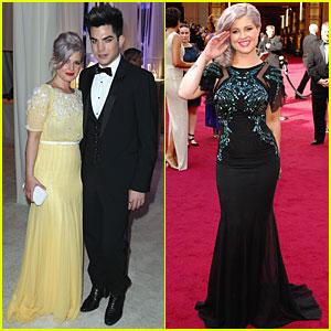 Kelly Osbourne - Oscars 2012 Red Carpet & After Party