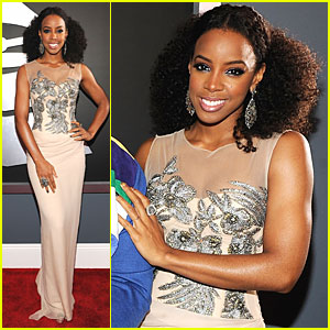 Kelly Rowland - Grammys 2012 Red Carpet