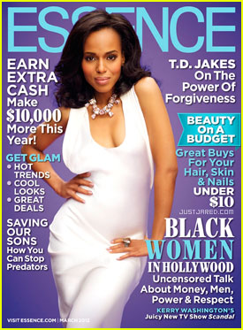 Kerry Washington Covers 'Essence' March 2012