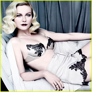Kirsten Dunst Lingerie Lady In Vanity Fair
