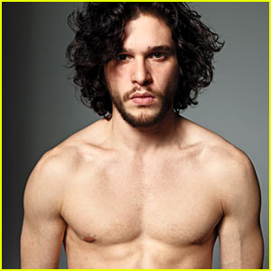 Kit Harington: Shirtless for 'Men's Journal'!