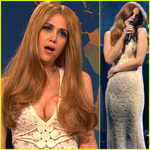 SNL's Kristen Wiig Spoofs Lana Del Rey