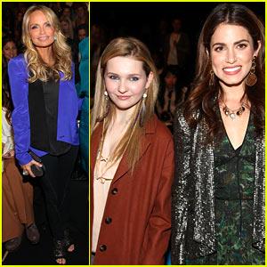 Kristin Chenoweth & Nikki Reed: Rebecca Minkoff Show!