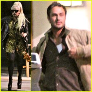 Lady Gaga & Taylor Kinney: Dinner Date!