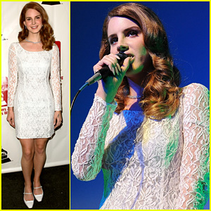 Lana Del Rey: Grammy Awards P&E Wing Event!