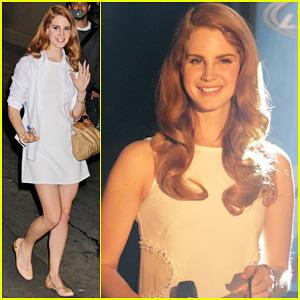 Lana Del Rey: 'Jimmy Kimmel Live' Performance!